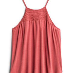 Papermoon Lavinia Smocked Knit Tank Top Size: S